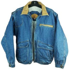 Vintage Kodiak unisex denim full zip jeans jacket